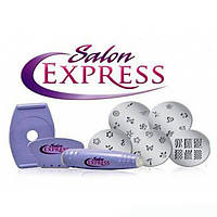 Маникюрный набор для узоров на ногтях Салон Экспресс   Cтемпинг для маникюра Salon Express, фото 1