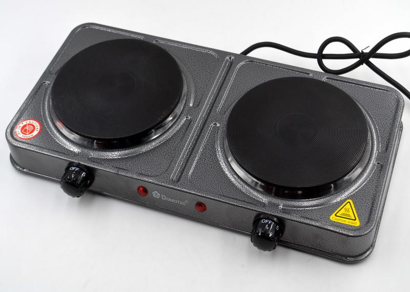 Электроплита настольная    Електроплита настільна Domotec MS-5822 (Серая)
