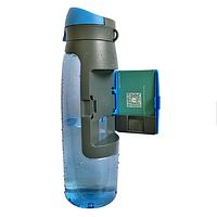 Спортивная  бутылка для воды 750 мл. с кошельком