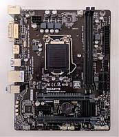 Материнская плата GIGABYTE GA-H110M-D2P (s1151, H110, PCIe x16)(2xD DDR4/DVI/D-Port), б/у