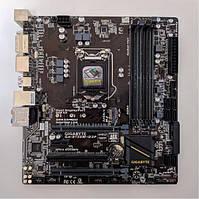 Материнская плата GIGABYTE GA-B150M-D3P (s1151, B150, PCIe x16)(4xD DDR4/DVI/2xD-Port), б/у