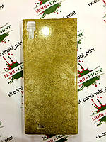 Чехол для ThL T100 (Золотые чешуйки)