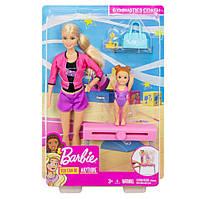 Барби Тренер по спортивной гимнастике Barbie Gymnastics Coach Doll FXP39