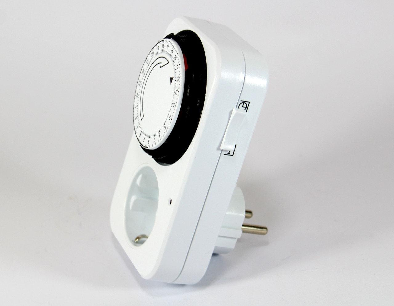 Таймер-розетка электромеханический суточный Programmer Timer TG-14A