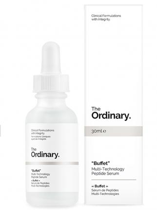 Пептидная сыворотка для лица The Ordinary  Buffet  Multi Technology Peptide Serum 30 мл, фото 2