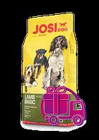 Корм Josera Josi Dog Lamb Basic Йозера Йозі Дог Лемб Басик для дорослих собак c ягням 18 кг