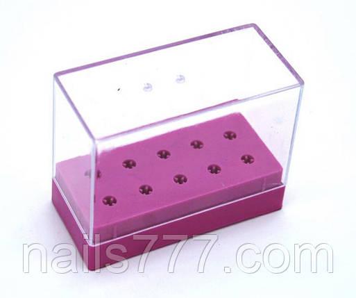 Подставка под насадки для фрезера маникюрного на 10 шт, фото 2