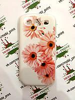 Чехол для Samsung Galaxy S3 I9300 (Цветы)