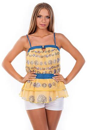 Красивая женская блуза-топ, фото 2