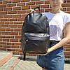 """Большой мужской рюкзак для ноутбука, путешествий, повседневный, городской """"Молио Black"""""""