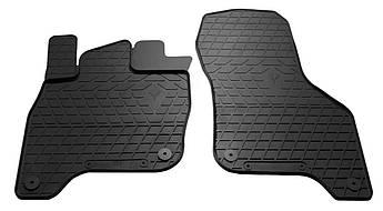 Коврики в салон резиновые передние для Volkswagen e-Golf 2014- Stingray (2шт)