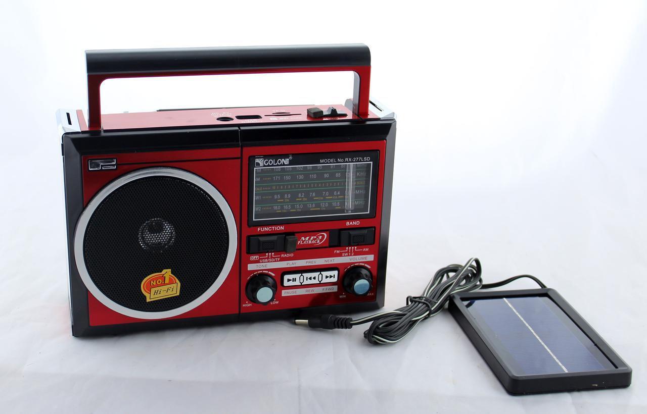 Портативная колонка Golon RX-277LSD MP3 USB