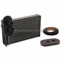 Радиатор отопителя Volkswagen GOLF II/III/4 /PASSATIII/AUDI AIII/LUPO/POLO III (пр-во FEBI) (арт. 11089)