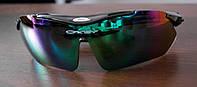 Тактические спортивные очки Oakley 089 с UV400 (5 сменных линз)