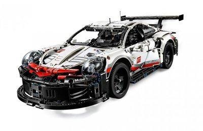 Модель Машины Порш Porsche 911 RSR Техник Jixin 13387, 1580 деталей