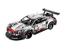 Конструктор Bela 11171 Техник Порш Porsche 911 RSR  (Аналог Lego Technic 42096), фото 3