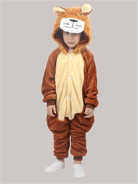 Детский кигуруми лев krd0096