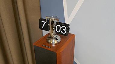 Перекидные часы Flip Clock Черные, фото 3