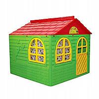 Домик игровой пластиковый Doloni 02550/3 со шторками 129*120*129 см, фото 1