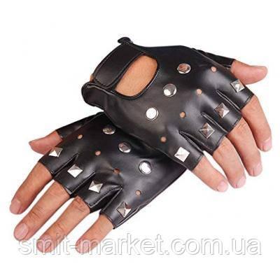 Рокерские перчатки, фото 2