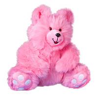 Мягкая игрушка Медведь Сластена розовый