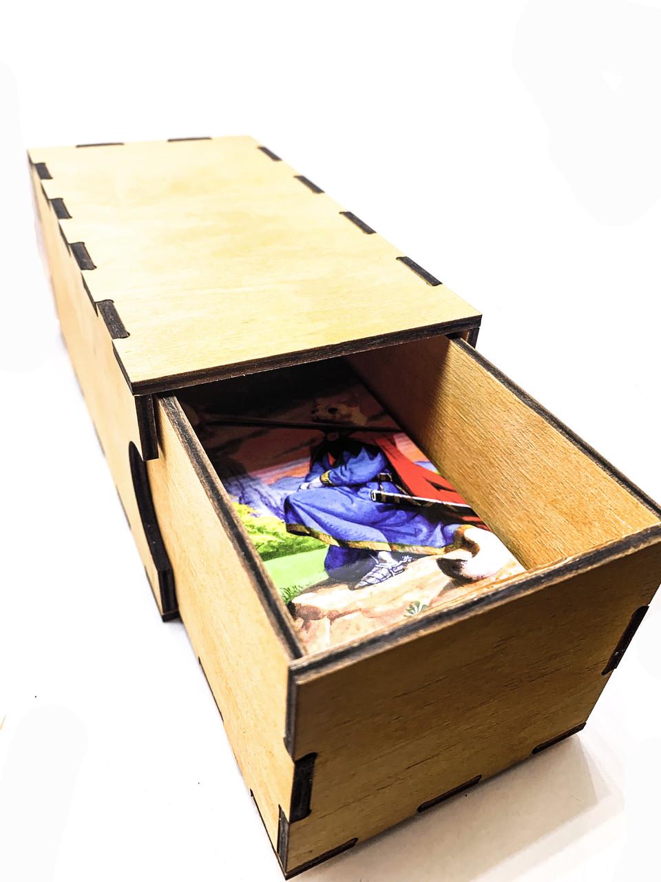 Скринька для карт Таро висувний