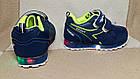 Кроссовки с разноцветными огоньками,24р. стелька 14,8 см, фото 2