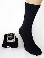 Мужские носки Житомир на большую ногу. Р-р 45-47. Однотонные. Черные., фото 1