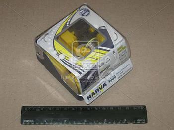 Лампа накаливания TWIN SET HB4 12V 55W RANGE POWER WHITE (пр-во Narva) (арт. 48626S2)