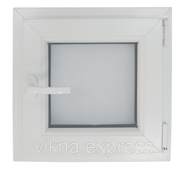 Окно в ванную эконом
