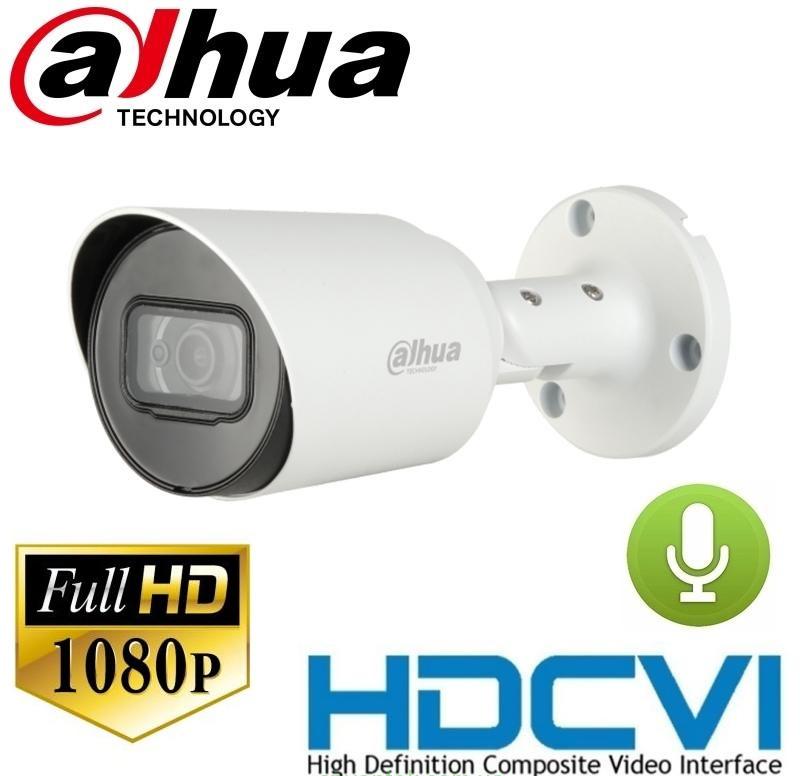 Камера видеонаблюдения 2 Мп HDCVI видеокамера DH-HAC-HFW1200TP-A-S4 (2.8 мм)