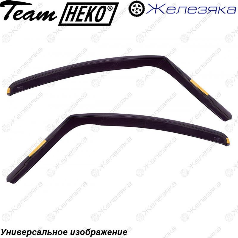 Ветровики Fiat Linea OD 2007 (HEKO)