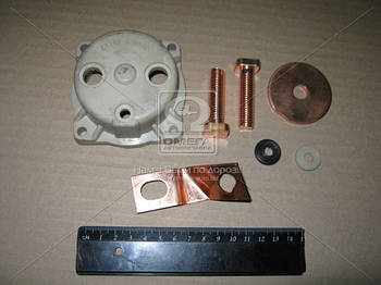 Ремкомплект стартера КАМАЗ (крышка+4 наименования) (арт. СТ142Б-3708820-11)