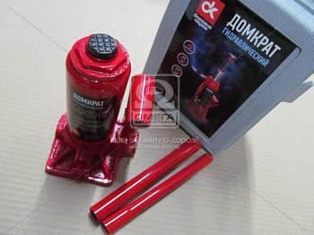 Домкрат бутылочный, 4т пластик, красный H=185/350  (арт. JNS-04PVC)