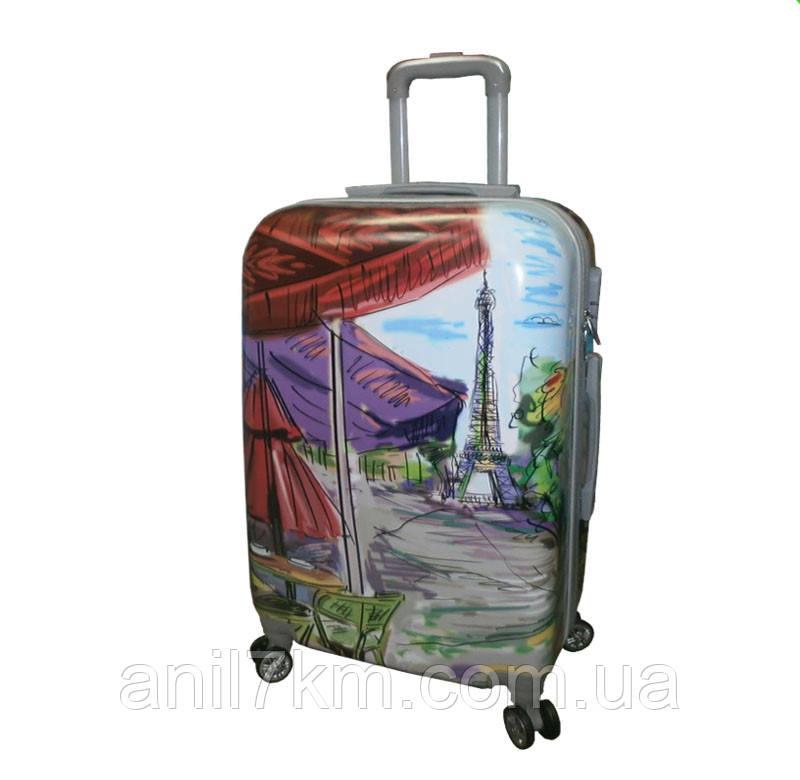 Малый ударопрочный чемодан абстракция