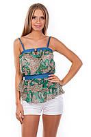 Красивая женская блуза-топ