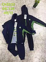 Трикотажный костюм - тройка для мальчиков S&D оптом, 98-128 рр.