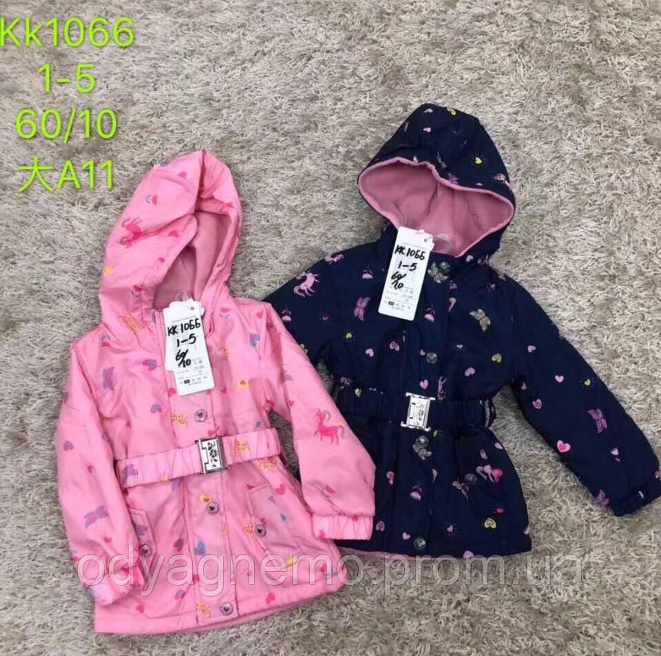 Куртка для девочек S&D оптом , 1-5 лет.