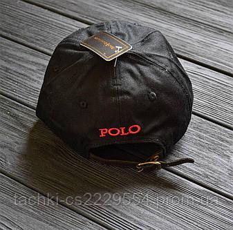 Кепка Polo Ralph Lauren black&red., фото 2