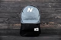 Рюкзак New Balance ( Серый с чёрным ), фото 1