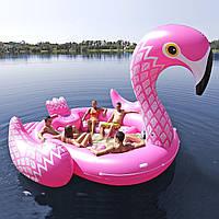 Огромный надувной Фламинго для отдыха на воде, фото 1