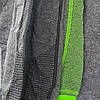 Женские лосины спортивные штаны серые, фото 3