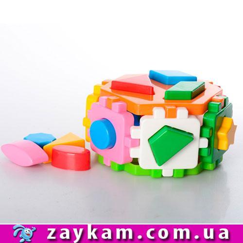 Куб Розумний малюк Гексагон 2 15.5-14.5-10 см ТехноК 1998
