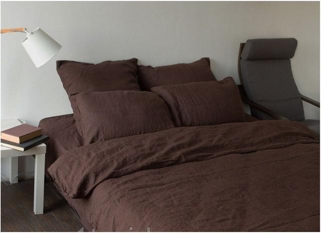 Однотонные комплекты постельного белья