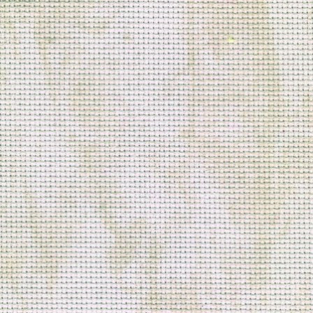 Zweigart (Aida) Аіда 18ct - Вінтаж біла з сірими розводами