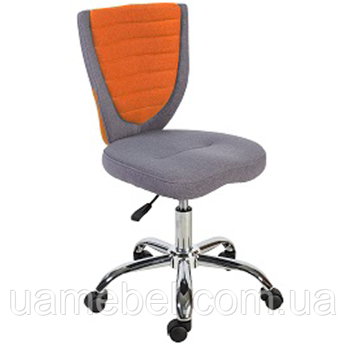 Кресло офисное POPPY Grey/Orange 38153