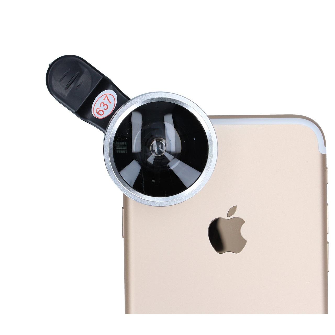 Линза для телефона (объектив) Selfie Cam Lens серый