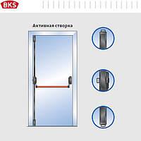 Антипаника для одностворчатой двери 3-мя точками запирания с внешней наружной ручкой (G-U Германия)