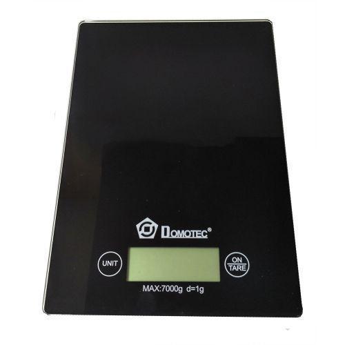 Весы кухонные электронные до 7кг Domotec MS-912 Black (56163)