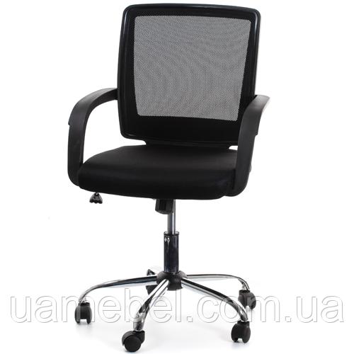 Офисное кресло VISANO, Black/Chrome 27786